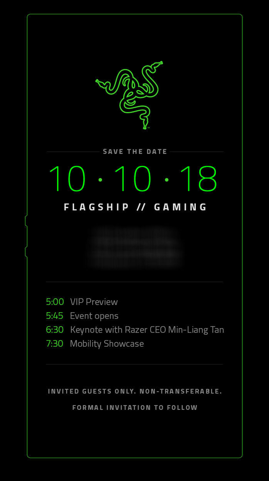 Razer Phone 2 Data LANSARE 1