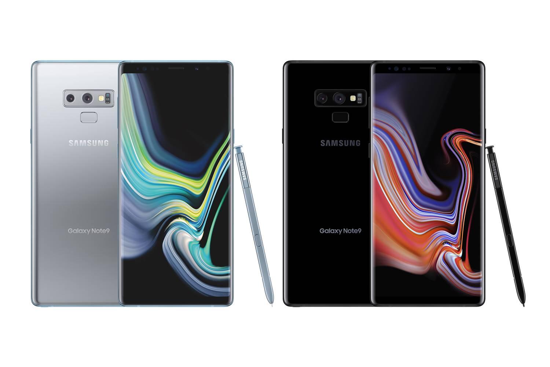 Samsung GALAXY Note 9 argintiu lansare 1