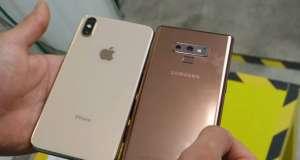 Samsung GALAXY Note 9 rezistent iphone xs max