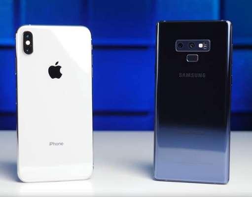Samsung GALAXY Note 9 umilinta iPhone XS Max