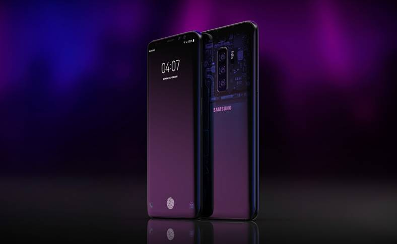 Samsung GALAXY S10 design nou