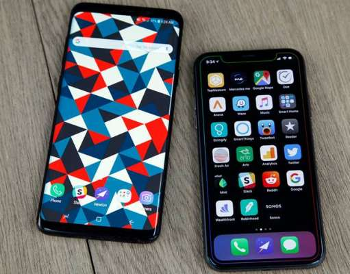 Samsung GALAXY S9 Plus performante iPhone XS