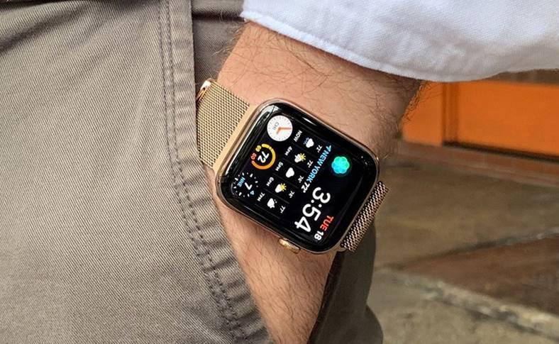 apple watch 4 baterie