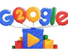 google 20 ani zi nastere