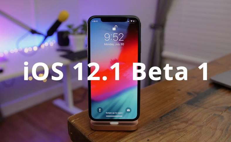 iOS 12.1 public beta 1