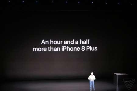 iPhone XR autonomie
