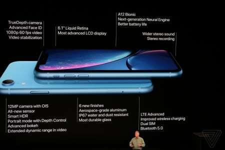 iPhone XR noutati