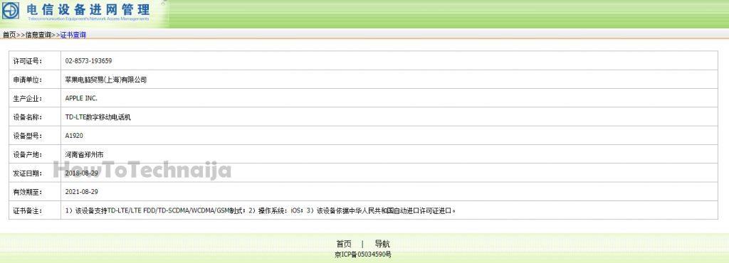 iPhone XS CERTIFICAT OFICIAL Vanzare 1