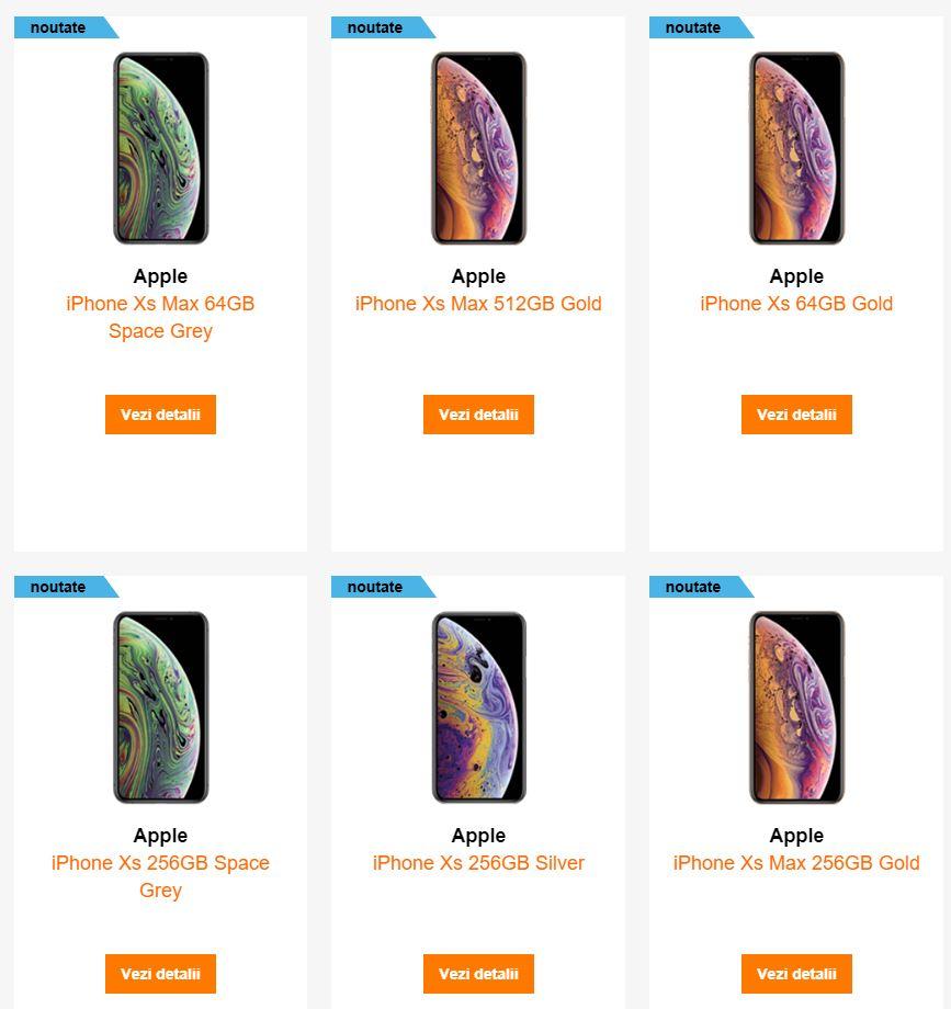 iPhone XS XS Max LISATATE Orange Vodafone 1