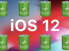 ios 12 autonomie baterie iphone ipad