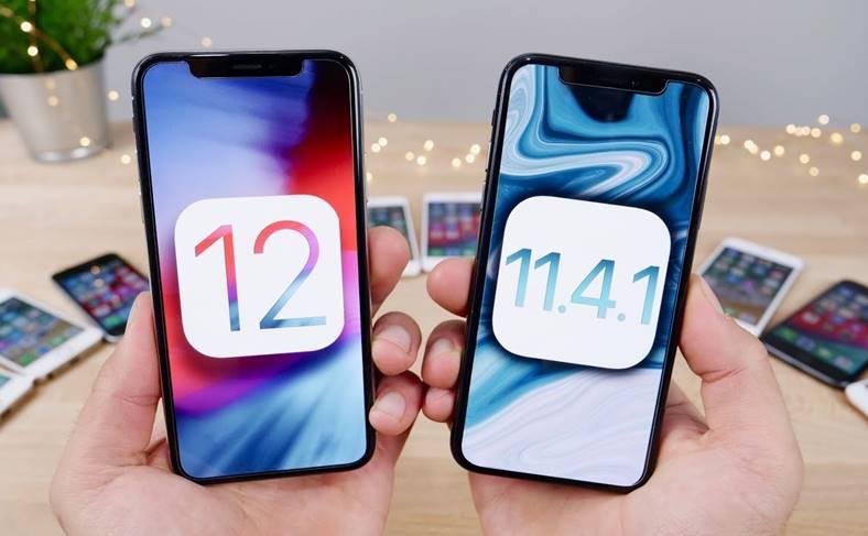 ios 12 performante ios 11.4.1 iphone