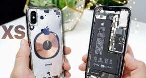 iphone xs carcasa transparenta