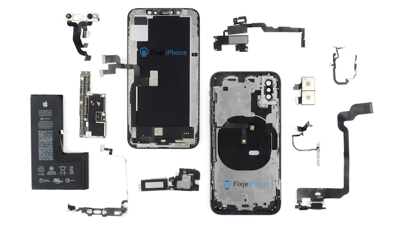 iphone xs dezasamblare complet