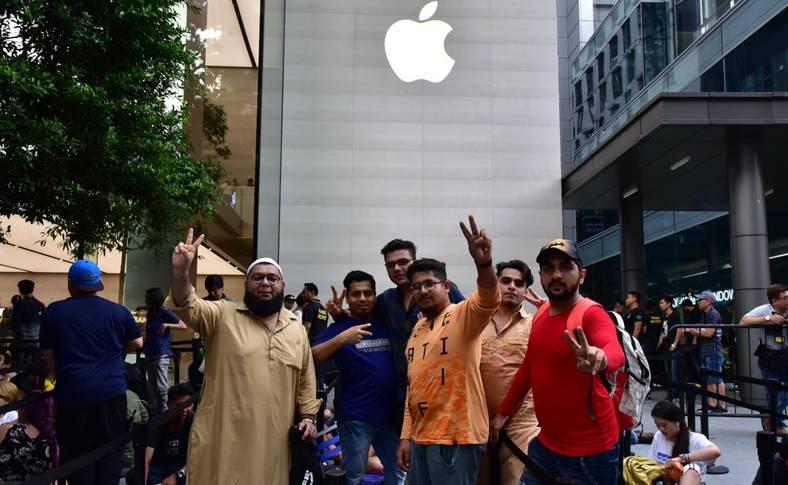 iphone xs lansare jaf apple store