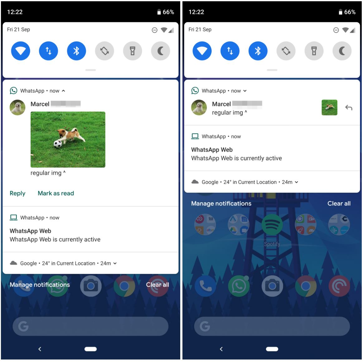 whatsapp functii android iphone 1