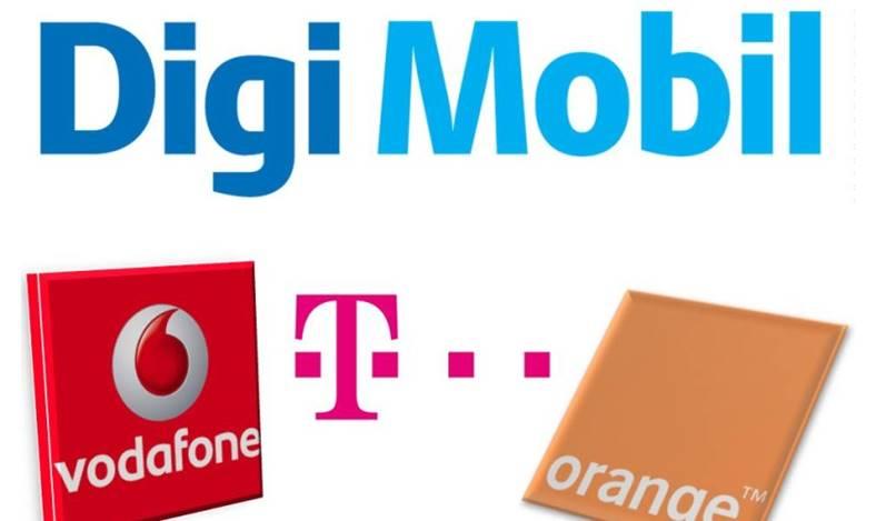 Digi Mobil Orange Telekom Vodafone Viteze Internet Mobil