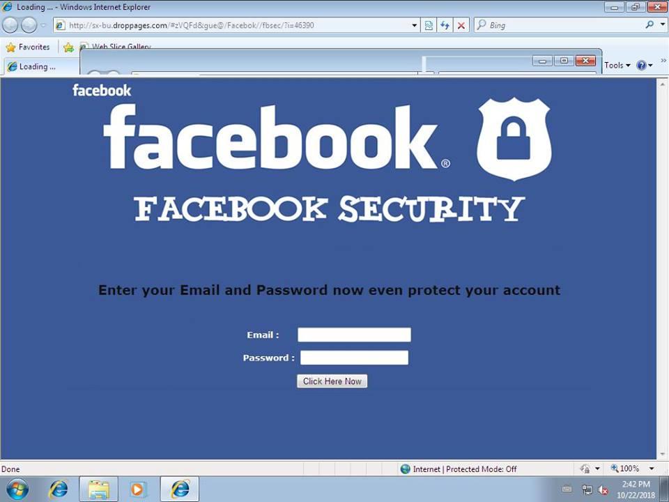 Facebook AVERTIZAREA CERT-RO 1