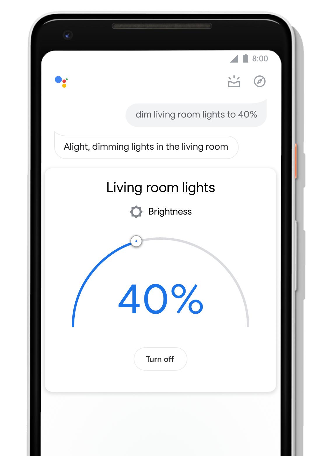 Google Assistant functii design 1