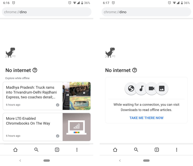 Google Chrome articole recomandate 1