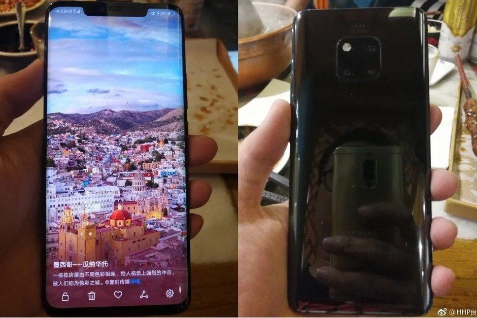 Huawei MATE 20 Pro negru 1