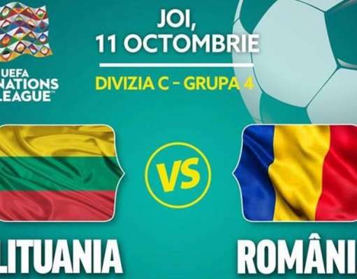 LITUANIA - ROMANIA LIVE PRO TV LIGA NATIUNILOR