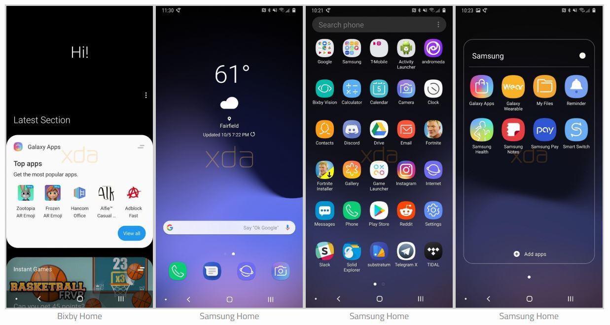 Samsung GALAXY Note 9 ARATA Android 9 3