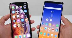 Samsung GALAXY Note 9 viteze 4g iphone xs