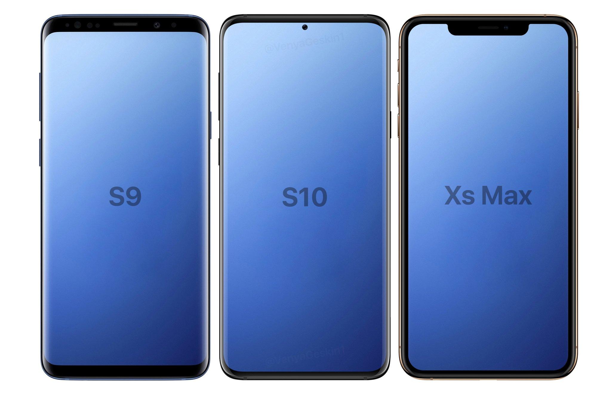 Samsung GALAXY S10 arata S9 XS Max 1