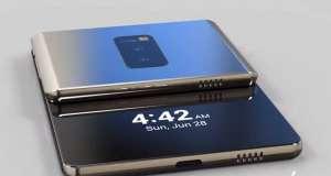 Samsung Galaxy F tableta pliabila
