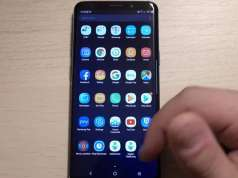 Samsung Galaxy S8 interfata android 9