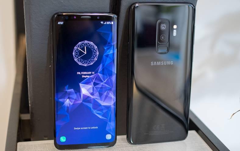 Samsung Galaxy S9 android 9 camera