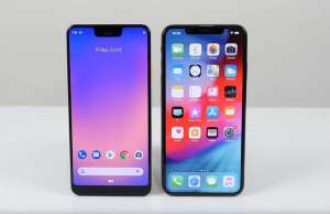 google pixel 3 xl comparatie iphone xs max