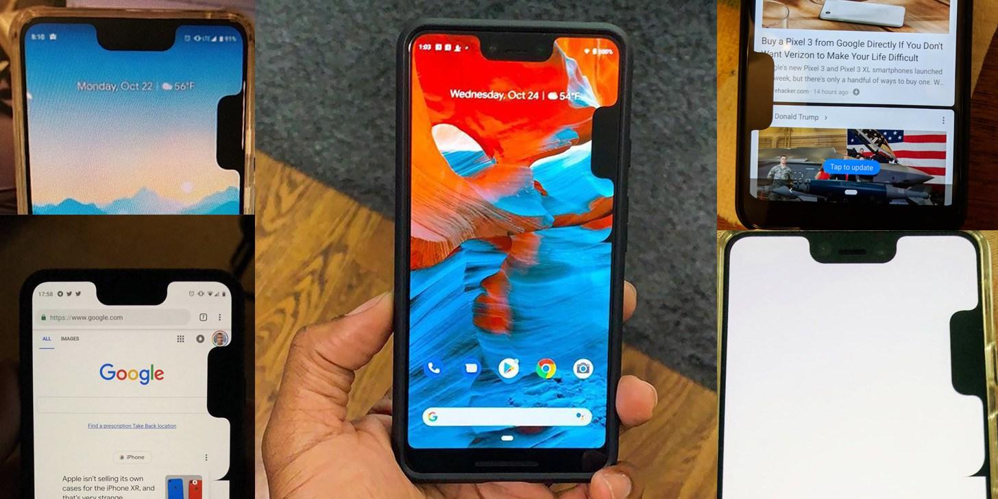 google pixel 3 xl problema decupaje 1