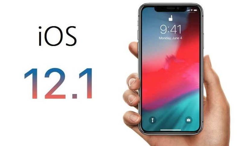 iOS 12.1 face id landscape