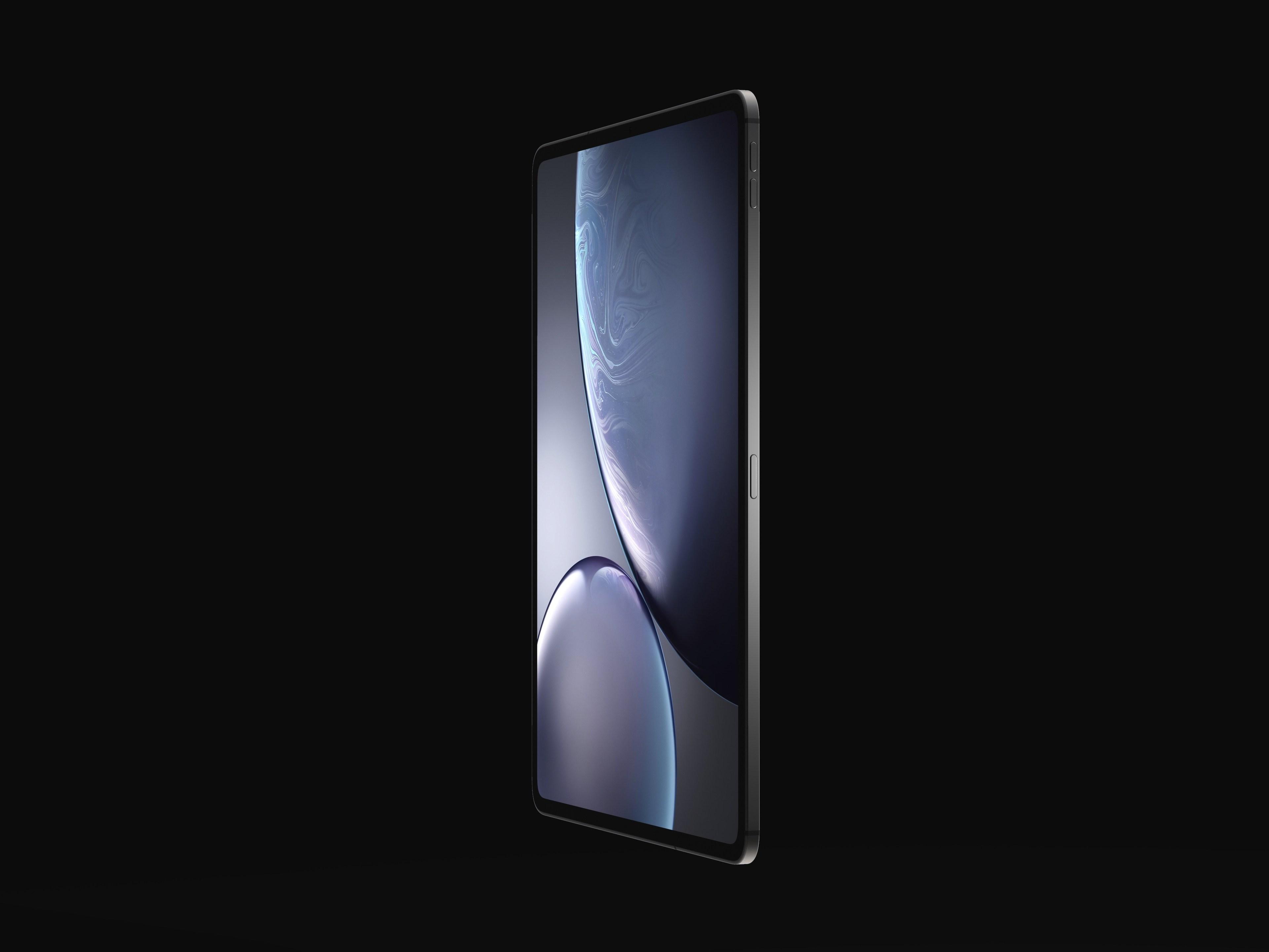 iPad Pro 2018 concept design 1