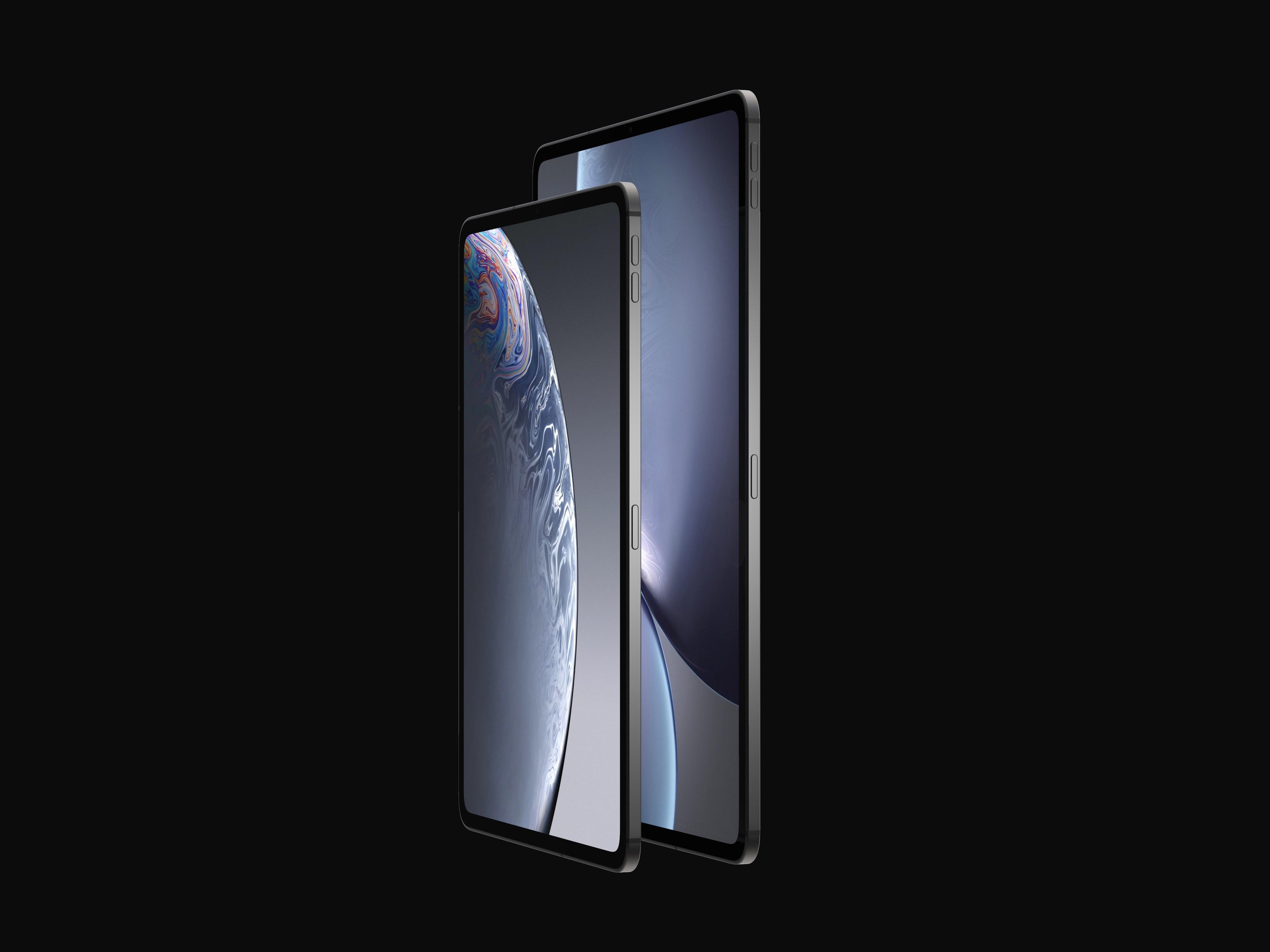 iPad Pro 2018 concept design 2
