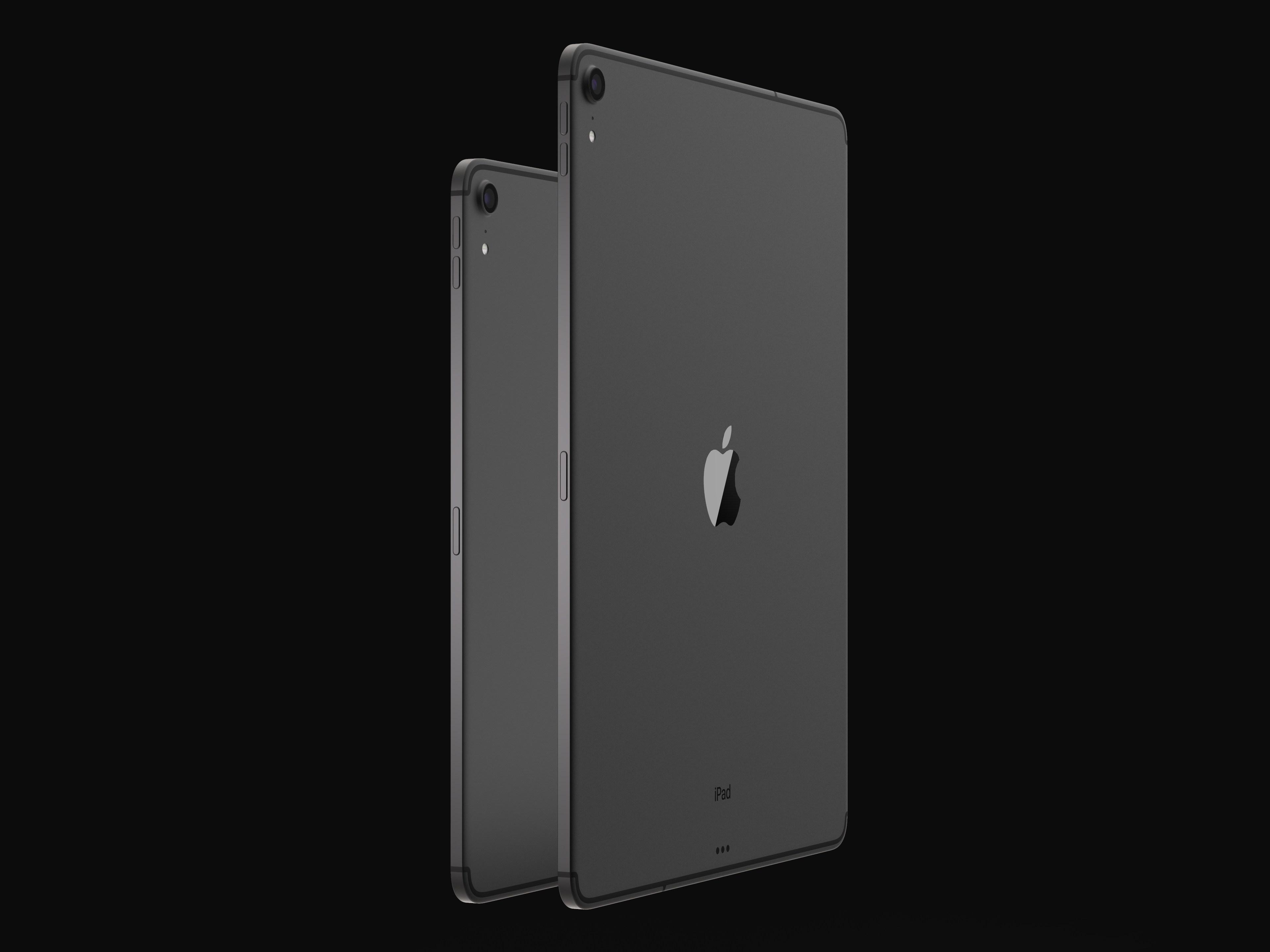 iPad Pro 2018 concept design