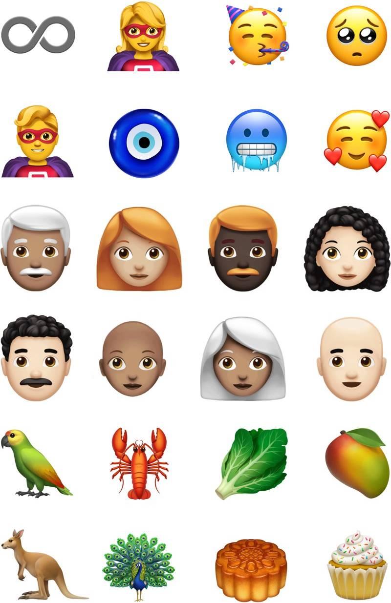 ios 12.1 emoji apple 1