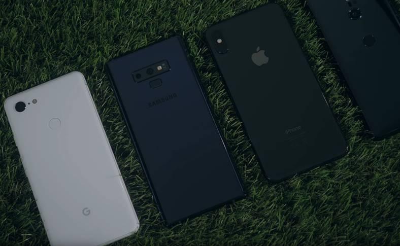 iphone xs max autonomie google pixel 3 xl galaxy note 9 359478