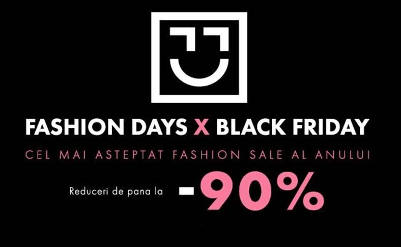 Fashion Days black friday 2018 oferte
