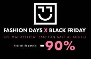 Fashion Days produse black friday