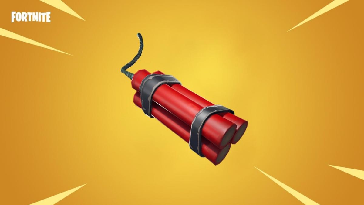 Fortnite dinamita 1