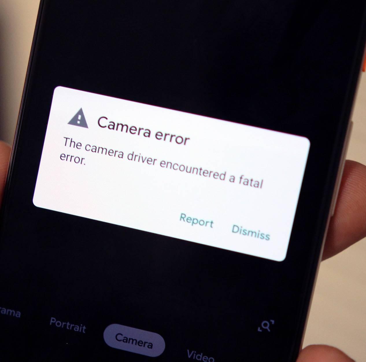 Google Pixel 3 problema camera 1