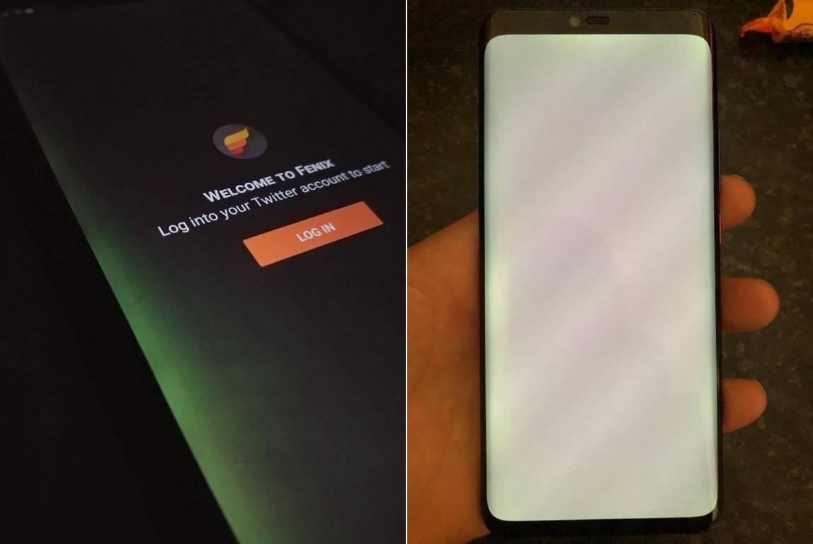 Huawei MATE 20 PRO probleme ecran 2