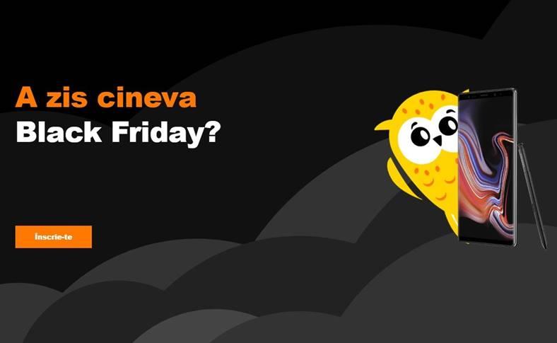 Orange Black Friday 2018