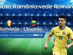 ROMANIA - LITUANIA LIVE PRO TV LIGA NATIUNILOR