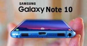 Samsung GALAXY NOTE 10 ecran