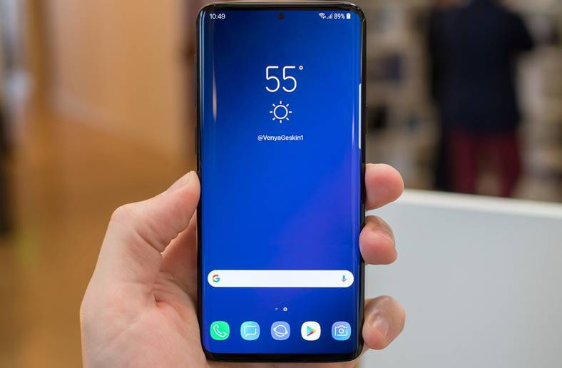 Samsung GALAXY S10 decupaj