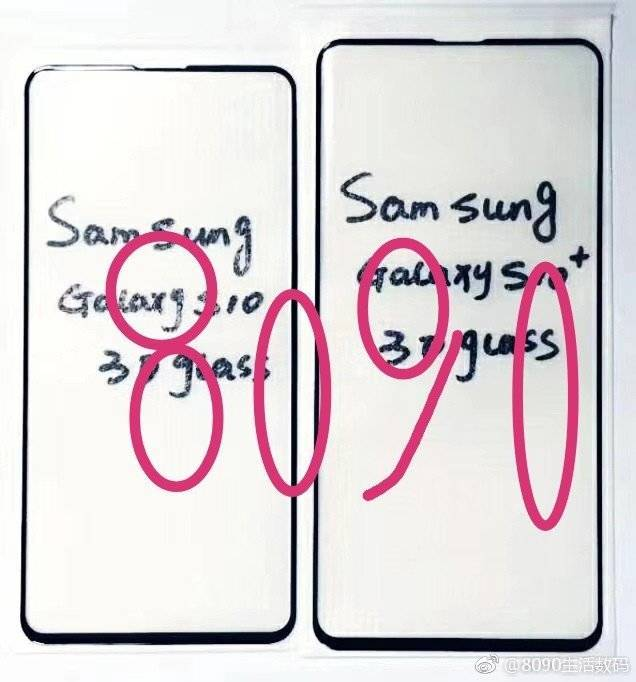 Samsung GALAXY S10 design 1