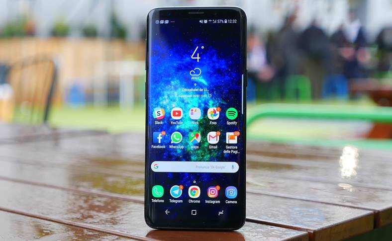 Samsung GALAXY S9 Android 9
